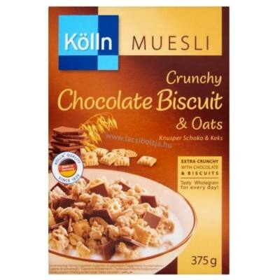 Müzli KÖLLN ropogos csokoládés-keksz 375g