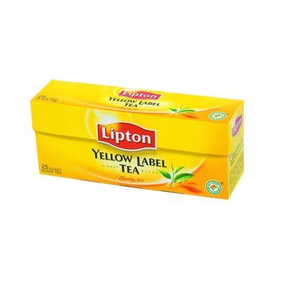 Fekete tea LIPTON Yellow Label 25x2g