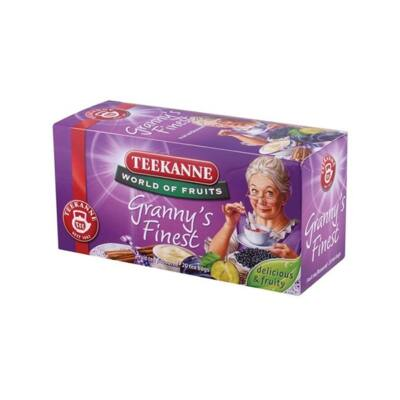 Gyümölcstea TEEKANNE Granny Finnest szilvás-fahéjas