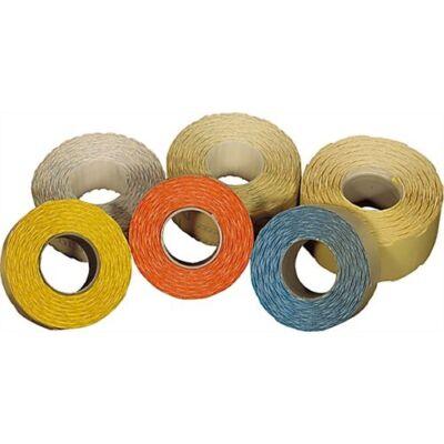 Árazószalag FORTUNA 25x16mm perforált fehér 10 tekercs/csomag