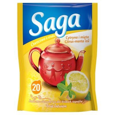 Gyümölcs tea SAGA Citrus-menta 20 filter