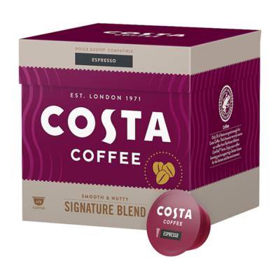Kávékapszula COSTA Dolce Gusto Espresso 16 kapszula/doboz