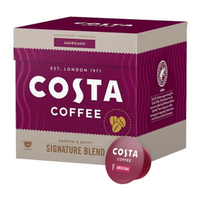 Kávékapszula COSTA Dolce Gusto Americano 16 kapszula/doboz