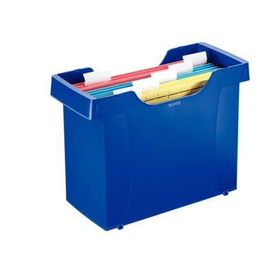 Függőmappa tartó LEITZ Plus kék