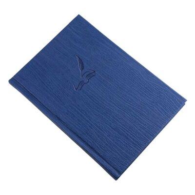 Vendégkönyv REALSYSTEM Fashion A/4 144 lapos sima kék