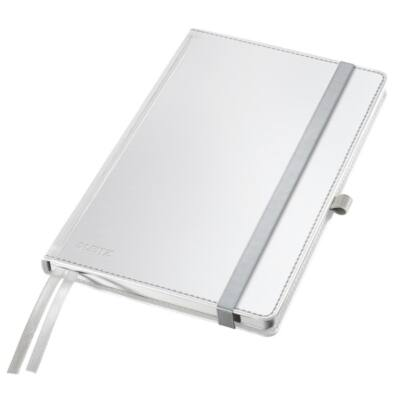 Jegyzetfüzet LEITZ Style A/5 80 lapos vonalas fehér