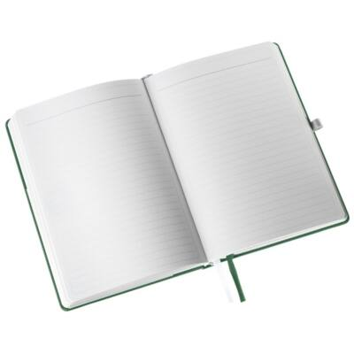 Jegyzetfüzet LEITZ Style A/5 80 lapos vonalas olajfa zöld