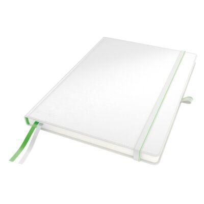 Jegyzetfüzet LEITZ Complete A/4 80 lapos vonalas fehér