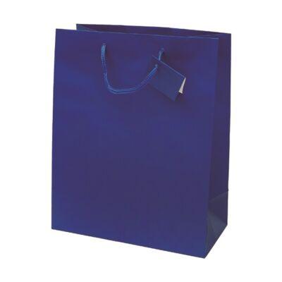 Ajándéktasak Special Simple L 26x32x12 kék