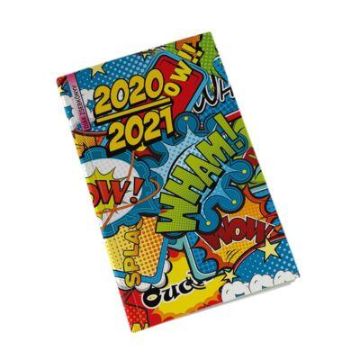 Diák zsebkönyv REALSYSTEM papírborító 125x205mm PopArt 2020-2021