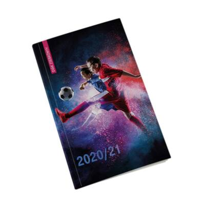 Diák zsebkönyv REALSYSTEM papírborító 125x205mm foci 2020-2021