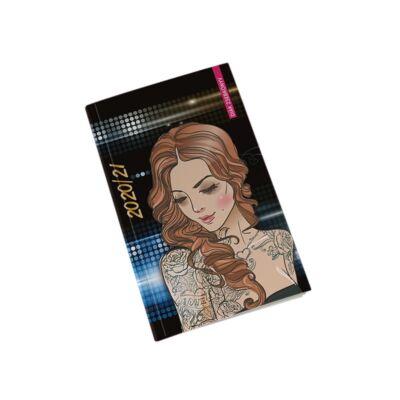 Diák zsebkönyv REALSYSTEM papírborító 125x205mm tattoo 2020-2021