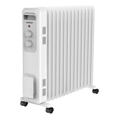 Elektromos olajradiátor SENCOR SOH 3213WH 2300W 3 fokozatú fehér