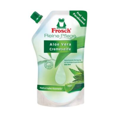 Folyékony szappan utántöltő Frosch aloe vera környezetbarát 500ml