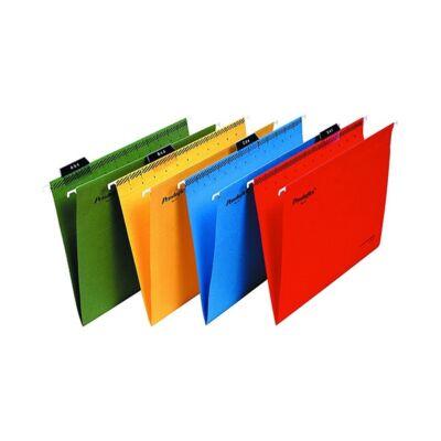 Függőmappa ESSELTE Classic A/4 újrahasznosított karton sárga 25 db/doboz