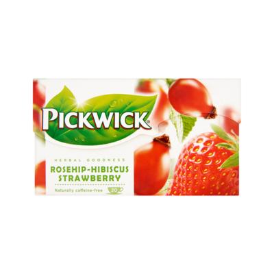 Gyümölcstea PICKWICK csipkebogyó hibiszkusszal és eperrel
